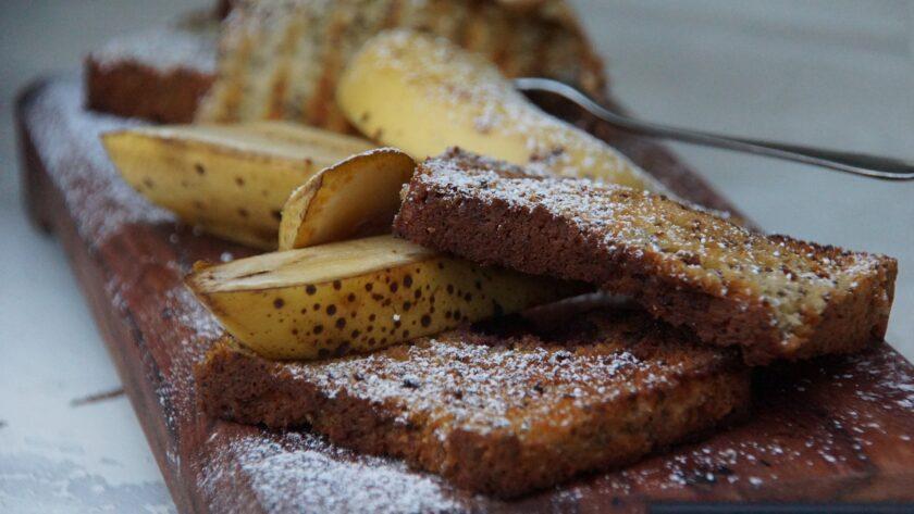 Bananin kruh s čokolado